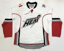 Vintage Reebok Abbotsford Heat AHL Hockey Jersey Adult M White Canada Sewn