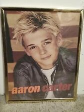 Pop Artist Aaron Carter Poster BIG Frame - Aaron's Party Cover Photo