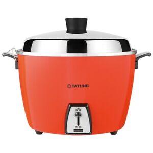 TATUNG TAC-10L 10 CUP Rice Cooker Pot AC 110V - Orange
