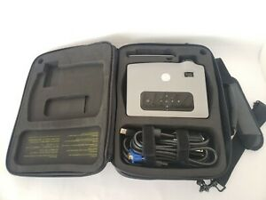 **EXCELLENT** Dell 3400MP Projector w/ Remote, Cables and Case (600 Lamp Hours)