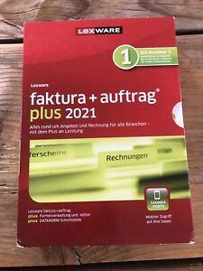 Lexware faktura+auftrag plus 2021 Minibox + DVD (Jahreslizenz)Neuware mit MwSt