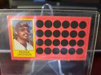 1981 TOPPS SCRATCH OFF REGGIE JACKSON CARD #3