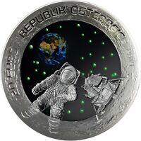 Österreich 20 Euro 2019 Mondlandung Niel Armstrong Erster Mensch auf dem Mond