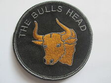 THE BULLS HEAD  Embroidered IRON/SEW ON Patch -  P060 BUY 2 GET 1 FREE!