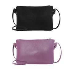 Women Shoulder Bag Lady PU Leather Crossbody Messenger Handbag Purse Mini Clutch