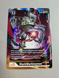 BlackWarGreymon | NM/M | BT2-112 SEC | Digimon Card Game