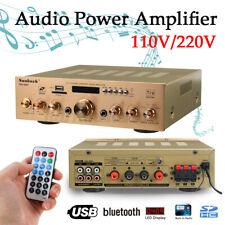 2000W HiFi 5 Kanal Stereo Verstärker Bluetooth Digital Audio Power Amplifier FM
