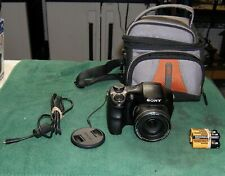 Sony Cyber-shot DSC-H300 20.1MP Digital Camera W/Extras