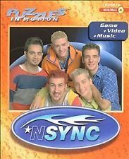 Puzzles in Motion: NSYNC (Windows/Mac, Game+Video+Music-CD-ROM-WIN/MAC 1999) (A)