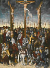 GALLERY WRAP FRAMED CANVAS PRINT PAINTING THE CRUCIFIXION OF JESUS CHRIST