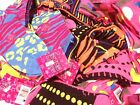Lot Of 12 3 Packs Of Girls Lowcut Socks Assorted Colors-Design--Shoe Size 9-11