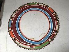 African Masai Beaded Traditional Necklace Kenya, Wedding Collar, Small