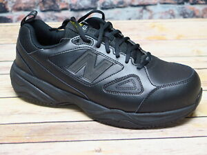 Men's New Balance MID627B2 Men's Black Leather Steel Toe Safety Shoe