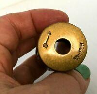 Vintage Van Cort The Private Eye Polemoscope Wood Brass Diagonal Viewer
