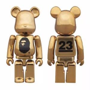Medicom Bearbrick 2016 Bathing Ape Nowhere Bape 23th Anniversary 100% Be@rbrick