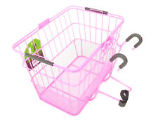 Ultracycle Hook & Go Mesh Quick Release Bicycle Basket Pink