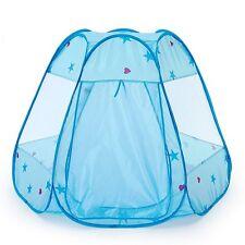 Tenda da gioco Bambini Principe castello casa Pieghevole Piscina di Palline blu