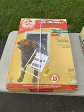 """Ideal Pet Products Ruff Weather Super Large Dog Pet Door 15"""" X 23 1/2 New!!!"""
