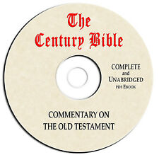 Century Bible Commentary-Old Testament - CD eBook PDF-Christian Scripture Study