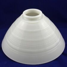 Conical Vintage White Replacement Globe