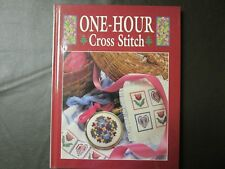 One-Hour Cross Stitch by Symbol of Excellence Staff (1992, Hardcover)