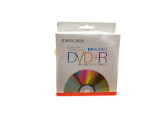 Memorex DVD+R Double-Layer Recordable Discs-DVDR DL, 8X, 8.5GB [10 in Pack]