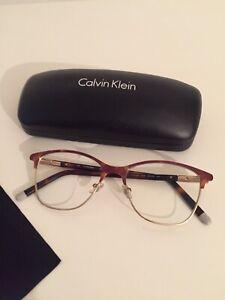 Calvin Klein Brille Lesebrille Brillengestell Roségold kupfer Impressionen