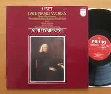 Philips 9500 775 Liszt Late Piano Works Alfred Brendel 1980 NM/EX + insert
