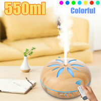 550ML LED Essential Oil Aroma Diffuser Air Purifier Humidifier Aromatherapy