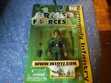 NIP Intoyz Armed Forces WWII 4 Inch Military Normandy Infantry