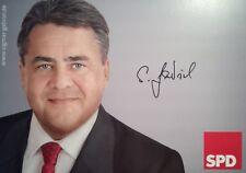 Sigmar Gabriel - German politician, Autogramm, Autograph