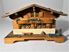 Reuge Swiss Made Chalet Music Box Laras Theme Dr Zhivago