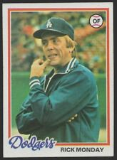 1978 TOPPS #145 RICK MONDAY – NM (7)