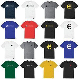 Etnies Herren T-Shirt Icon Logo Skate Tee Shirts Regular Sommer 2020 Kurzarm Neu