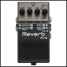 Boss RV-6 Digital Delay / Reverb Guitar Effects Pedal  New