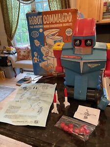 ROBOT COMMANDO BY IDEAL IN ORIGINAL BOX