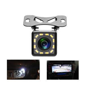 170° CMOS Car Rear View Backup Camera Reverse 12 LED Night Vision Waterproof NEW