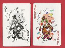 2 jokers  playing cards