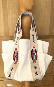 Ralph Lauren Huge Natural Square Bag RRP £365 BNWT