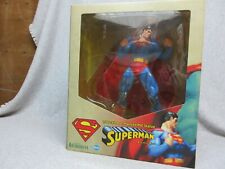 "SUPERMAN 1/6 Scale 12"" tall  PVC STATUE DC Comics KOTOBUKIYA ARTFX  MiNt-In-Box"