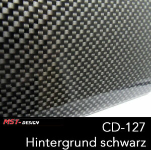Wassertransferdruck Starterset WTD Film Folie Carbon CD-127 1 m + Aktivator