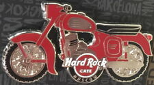 Hard Rock Cafe Moscow 2017 Rot & Silber Motorrad Pin auf Karte Le 200!