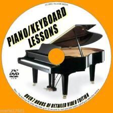 Libros de música y métodos de aprendizaje de piano y teclado
