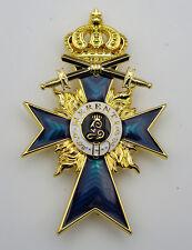 German WW1 Imperial Bavarian Merit Cross 2nd Class with Swords