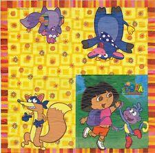 2 Serviettes en papier Dora Exploratrice Paper Napkins Dora the Explorer