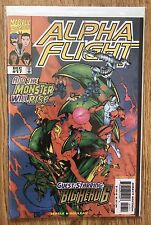 Alpha Flight Volume 2 17 And Volume 3 9 First And Second Big Hero 6 Vf/Nm Marvel