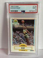 1990 Fleer Basketball Shawn Kemp ROOKIE RC #178 PSA 9 MINT