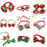 Dog Cat Pet Puppy Cute Bowknot Necktie Collar Bow Tie Christmas Party Clothes