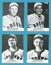 1947 Tip Top Reprint Team Set: St. Louis Browns (John Berardino)