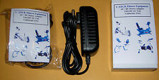 AC Adapter for Everlast E74r Walk-Thru Recumbent Exercise Bikes Power Supply NEW